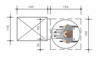 Plattformlift Maße
