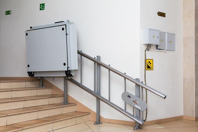 Treppenlifte auch mit Nachteilen